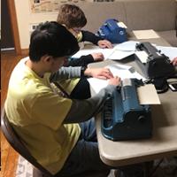 Sophomore Braille Challenge participants
